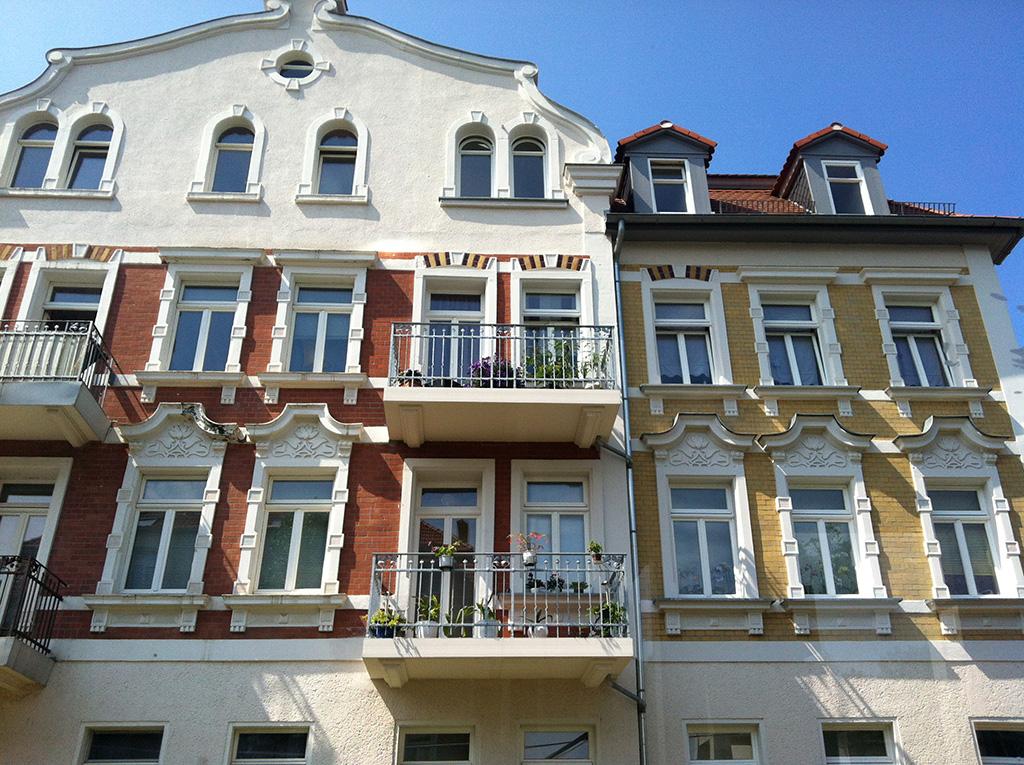 Fassade in Leipzig
