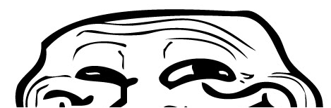 half-troll-face